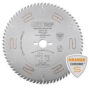 Diskas pjovimo 350x3,5/2,5x30 Z54 15ATB HM (CHROME), CMT