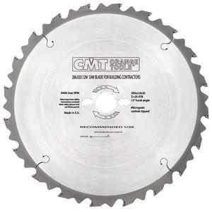 SAW BLADE FOR BUILDING 600X4X30 Z40 5'ATB, CMT