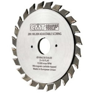 Diskas pjovimo 120x3,6/2,8x22 Z12+12 HM, CMT
