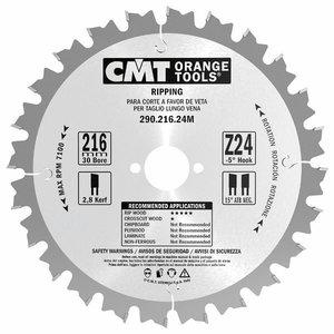 Saeketas puidule 190x2,6x30mm Z12 a=20° b=10° ATB, CMT