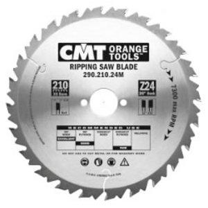 Diskas pjovimo 210x2,8x30 Z24 HM, CMT
