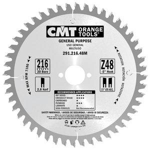 Saeketas puidule 235x2.8/1,8x30mm Z36 a=15° b=15° ATB, CMT