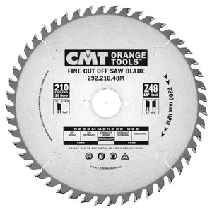 CROSSCUT SAW BLADE FOR PORTABLE MACHINES 120X1.8X20   Z=40, CMT