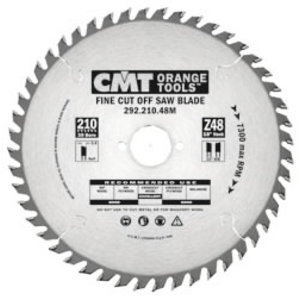 FINE CUT SAW BLADE 210X48X2,8 F=30 15ATB, CMT