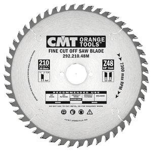 Diskas pjovimo 210x2,8x30 Z=64 15° HM, CMT