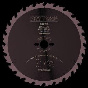 Diskas pjovimo HM 315x2,8x30mm Z28 a20° ß10°ATB, CMT