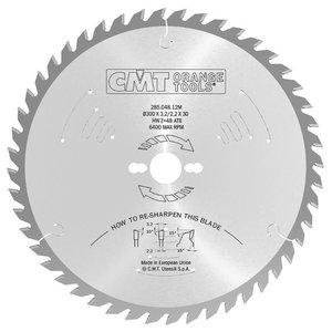 Zāģripa kokam 254x2,4x30mm Z48 a=-5° Neg. b=15° ATB, CMT
