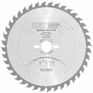 Sawblade for wood 305x2,8x30mm Z54 a=-5° Neg. b=15° ATB, CMT