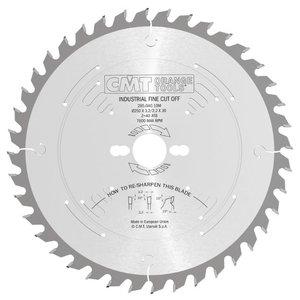 Diskas pjovimo 254x2.4/1,8x30 Z=60 -5°ATB, CMT
