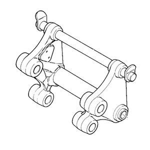 Carrier tool mechanical, JCB