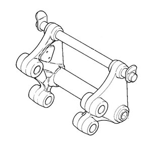 Kiirkinnitus mehaaniline  520, JCB