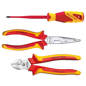 VDE Pliers set 3 pcs in L-BOXX Mini, Gedore