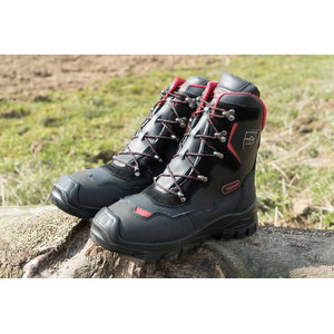Chainsaw boots Yukon leather  Class 1, 42