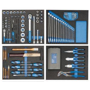 Instumentu komplekts moduļos 147 gab. TS-147 TS-147, Gedore