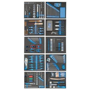 Instrumentu komplekts moduļos TS 308 gab., Gedore