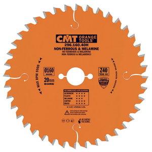 NON-METAL/LAMINATE SAW BLADE 180X2.8/2.2X20 Z40 TCG NEG, CMT