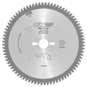 Zāģripa laminātam260X2.8X30 Z80 TCG, CMT