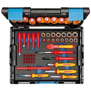 VDE įrankių komplektas  HYBRID 53 vnt L-BOXX 136 dėžėje, Gedore