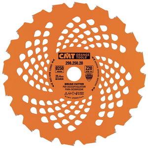 GARDEN TRIMMER SAW BLADES 250X2.2/1.4X25.4 Z20 ATB, CMT