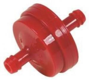 Kütusefilter Ø 7,7 mm, 150 micron punane