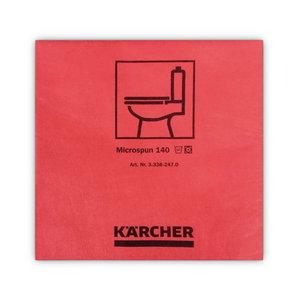 Microspun red (10pc/pkg) 37,5 × 38 cm, Kärcher
