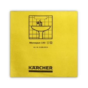 Mikrofiiberlapp 37,5 x 38 cm, kollane ( 10 tk pakis)