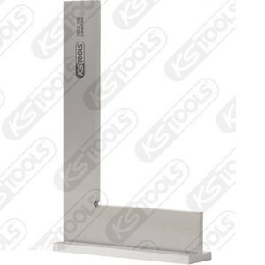 Square with stock DIN 875/0, 100mm, Kstools