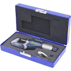 Skaitmeninis  mikrometras  0-25mm, KS Tools