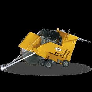 Asfaldi-ja betoonisaag CF2116D, 340kg diiselmootor
