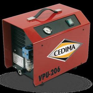 Vakuuminis siurblys VPU 206, Cedima