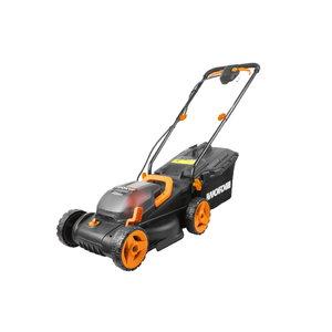 Akumulatora mauriņa pļaujmašīna2×20V/34cm , 2*4.0Ah, Worx