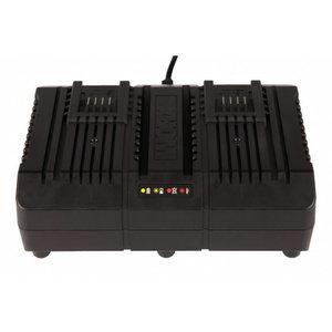 Charger dual  20V 4A WA3883, Worx