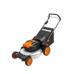 2x20V 48cm mower, 2*4.0Ah WA3553, 2*2A dual port charger, Worx