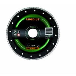 Deimantinis diskas DG35 115x7,0x2,0x22 ištisinis segmentas, Rhodius