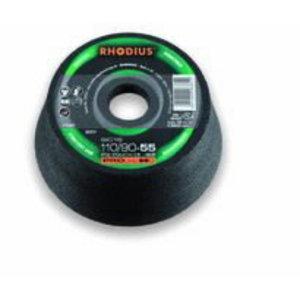 Puodelis akmeniui 110/90x55x22,23 SIC16, Rhodius