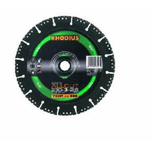 Teemantketas 125x3x2,5x22,23 DG210 ALLCUT TOP line, Rhodius