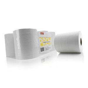 Popierinių šluosčių ritinys  Premium, 6 vnt, Satino