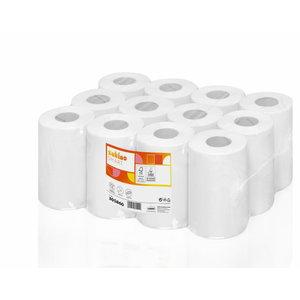 Hand towel rolls Smart/ 1-ply/12x120 m/ white CF1, Satino