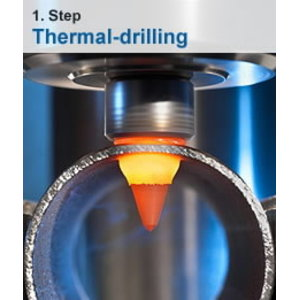 Thermo drill CUT M8 short, Optimum