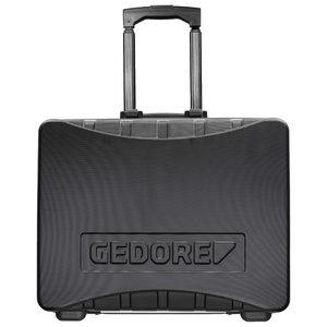 Įrankių lagaminas, tuščias 490x395x240mm WK 1040 L, Gedore