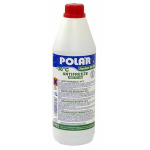 Jahutusvedelik POLAR Standard BS6580 -37°C roheline 1L