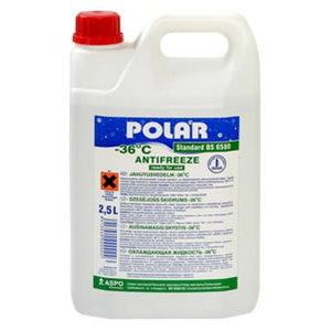 Antifrīzs POLAR Standard BS6580 -37°C zaļš 5L, Polar
