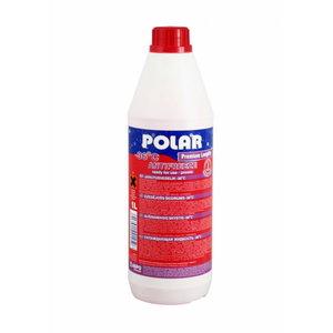 Jahutusvedelik POLAR PREMIUM Longlife -37°C punane 1L, Polar