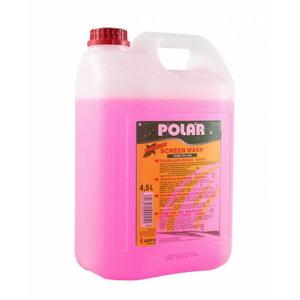 Logu mazgāšanas šķidrums vasarai 4,5L Polar, bez smaržas