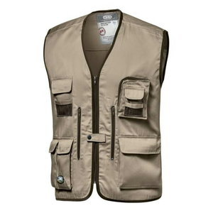 Vest Reporter, beige M, Sir Safety System