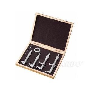 Inside micrometer set, 5 - 100 mm / 0,01 mm, Bernardo