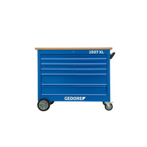 Mobili įrankių spintelė su 6 stalčiais ir 308 vnt įrankiais, Gedore