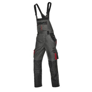 Bib&Brace Harrisonl, grey, 44, Sir Safety System