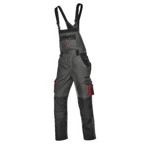 Bib&Brace Harrisonl, grey, Sir Safety System