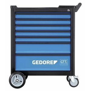 Įrankių vežimėlis su 177- įrankiais  GTT B-S-177, Gedore